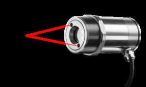 Pyrometry s laserovým cílením