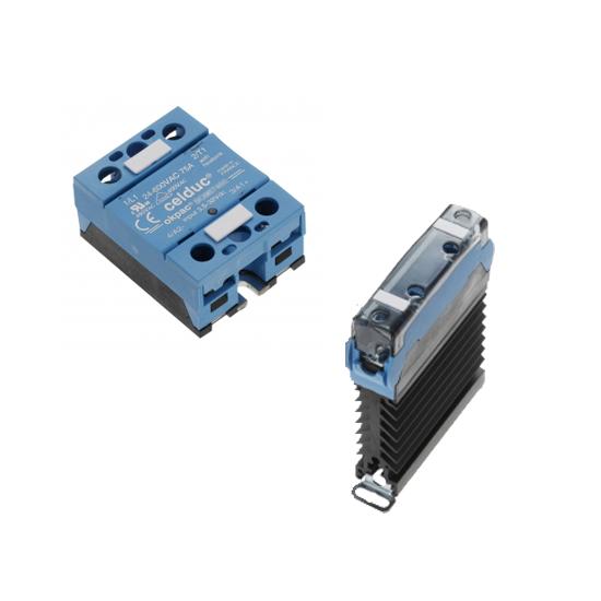 Polovodičová relé pro regulátory hotcontrol